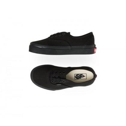 Black/Black - Kids Authentic Black/Black Sale Shoes by Vans