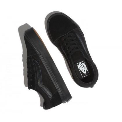 Black/Black - Kids Old Skool Black/Black Sale Shoes by Vans