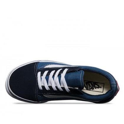 navy/true white - Kids Old Skool Navy Sale Shoes by Vans
