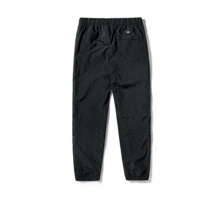 Black - Off The Wall Taped Black Track Pants Sale Shoes by Vans
