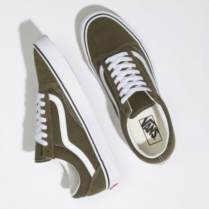 Beech/True White - OLD SKOOL BEECH TRUE WHITE Sale Shoes by Vans