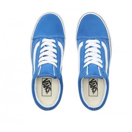 Lapis Blue/True White - Old Skool Lapid Blue/White Sale Shoes by Vans