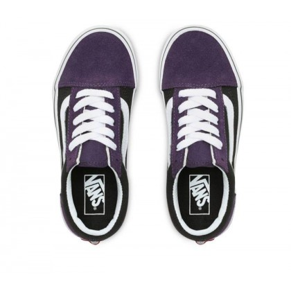 (Suede) Mysterioso/Black - Old Skool Suede Mysterioso Sale Shoes by Vans