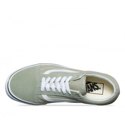 Desert Sage/True White - Old Skool Sale Shoes by Vans