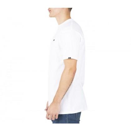 White-Black - Salton White/Black Short Sleeve T-Shirt Sale Shoes by Vans