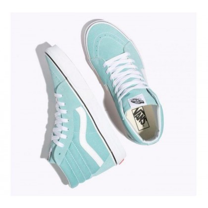 Aqua Haze/True White - Sk8-Hi Aqua Haze Sale Shoes by Vans