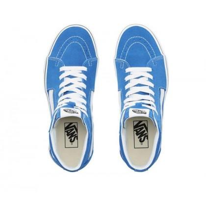 Lapis Blue/True White - Sk8-Hi Lapis Blue/White Sale Shoes by Vans