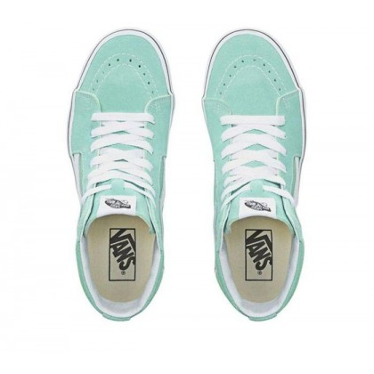 Neptune Green/True White - Sk8-Hi Neptune Green/True White Sale Shoes by Vans