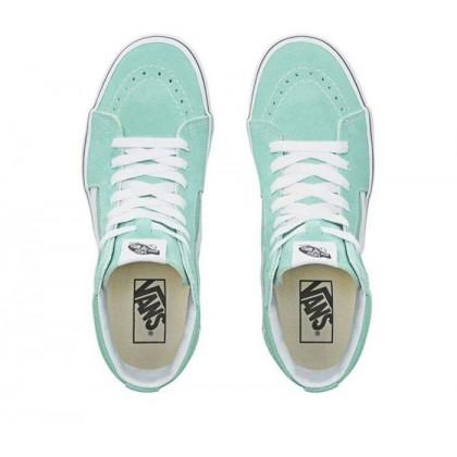 Neptune Green/True White - Sk8-Hi Neptune Green/True White Sale Shoes by Vans