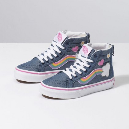 Multi - SK8-HI ZIP RAIN SIDE Sale Shoes by Vans