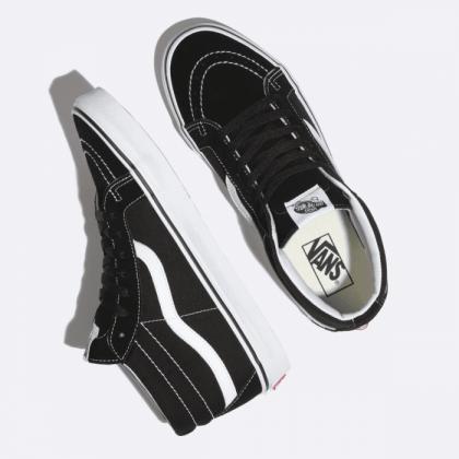 Black/True White - SK8-MID REISSUE BLACK Sale Shoes by Vans