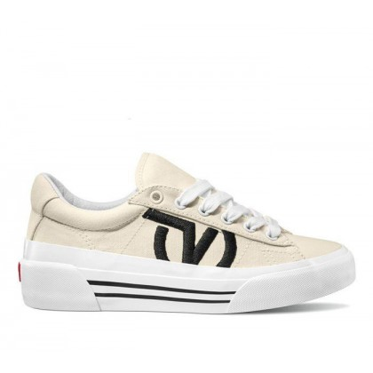 White - STAPLE SID NI CLASSIC WHITE Sale Shoes by Vans