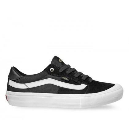 Black/White/Khaki - Style 112 Pro Black Sale Shoes by Vans