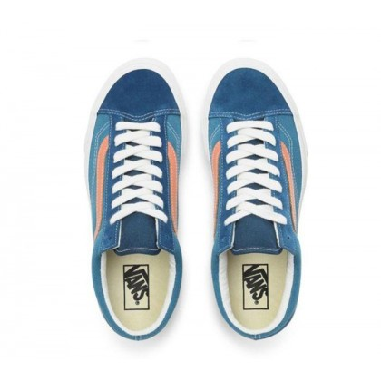 (Vintage Sport) Sailor Blue/Blanc De Blanc - Style 36 Vintage Sport Sailor Blue Sale Shoes by Vans