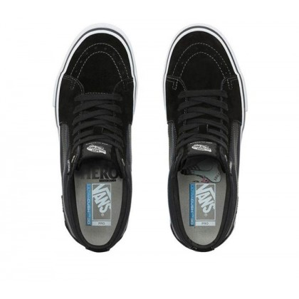 (Anti Hero) Grosso/Black - Vans x Anti Hero Sk8-Mid Pro Sale Shoes by Vans