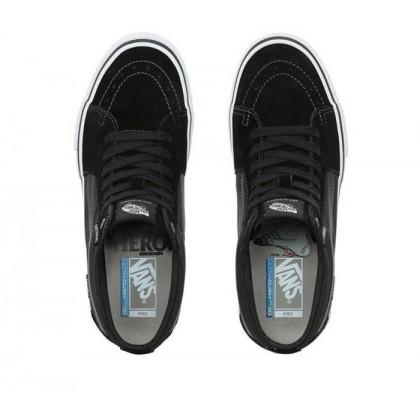 (Anti Hero) Grosso/Black - Vans x Anti Hero Sk8-Mid Pro Sale Shoes by Vans