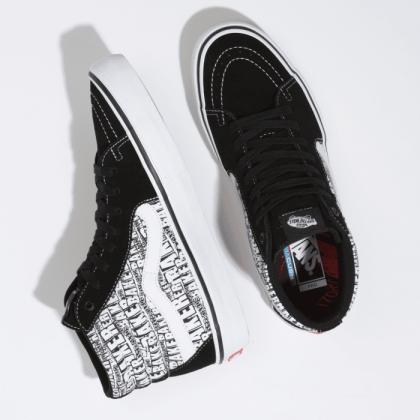 (Baker) Black/White - VANS X BAKER SK8-HI PRO Sale Shoes by Vans