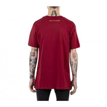 Biking Red - Vans X Harry Potter Gryffindor Red Short Sleeve Tee Sale Shoes by Vans