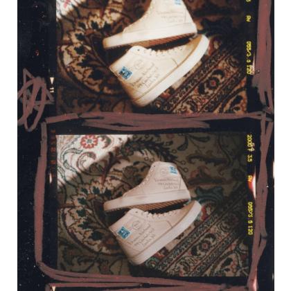 Neutral - Vans x Vivienne Westwood SK8-HI LETTER Sale Shoes by Vans