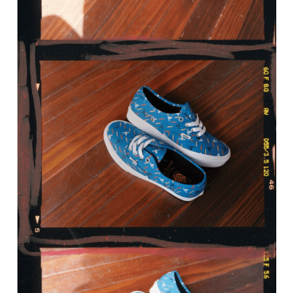 Blue - Vans x Vivienne Westwood Thunderbolt Authentic Sale Shoes by Vans