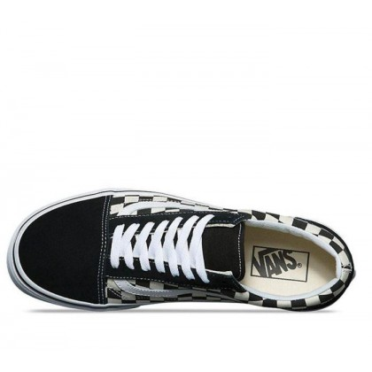 (Primary Check) Black/White - YOUTH OLD SKOOL PRIMARY CHECK BLACK Sale Shoes by Vans