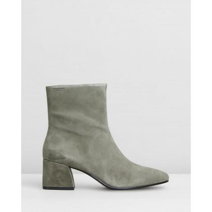 Alice Ankle Boots Khaki by Vagabond