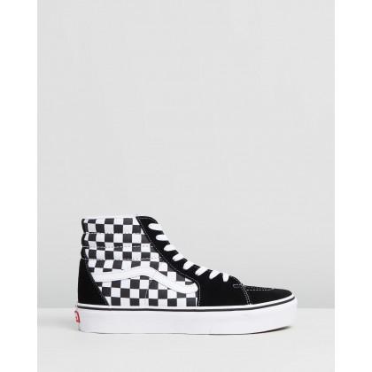 Sk8-Hi Platform 2.0 - Women's Checkerboard & True White by Vans