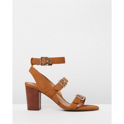 Carmel Heeled Sandals Saddle by Vionic
