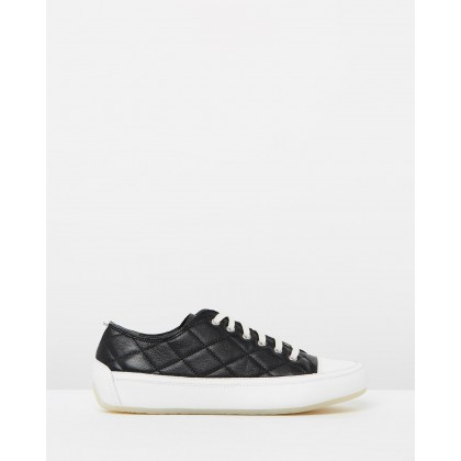 Edie Casual Sneakers Black by Sandler