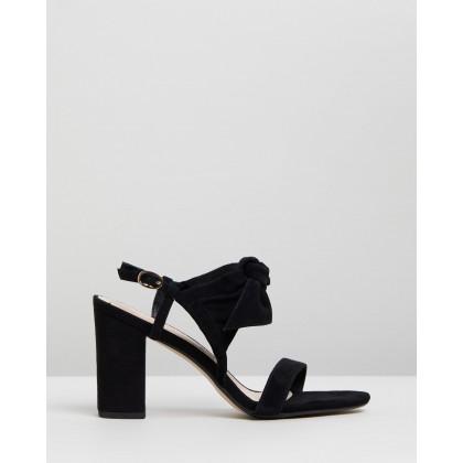 Palace Nubuck Heels Black by Walnut Melbourne