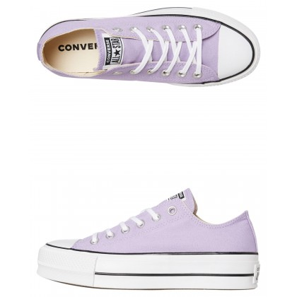 Chuck Taylor All Star Lift Shoe Washed Lilac