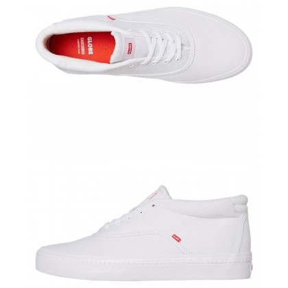 Sprout Mid Shoe White
