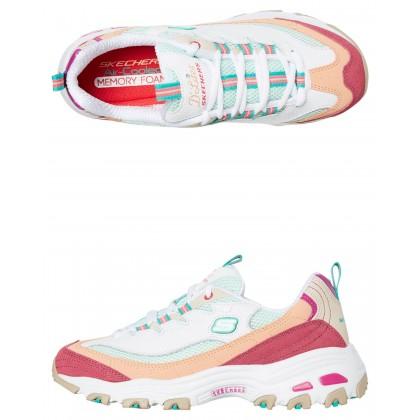 Womens D Lites Second Chance Shoe White Multi