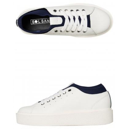 Womens Noah Sneaker White Navy