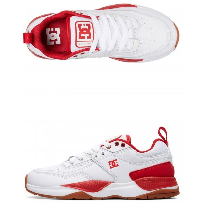 Womens E.Tribeka Shoe White/White/True Red