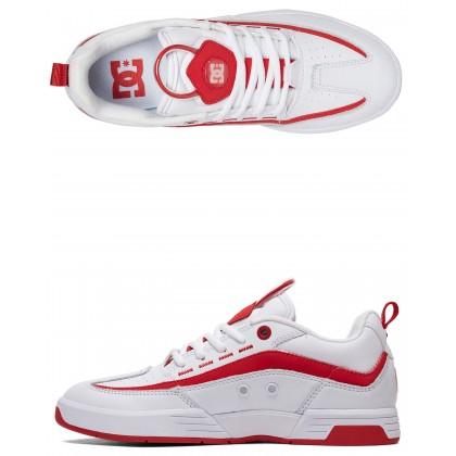 Womens Legacy 98 Slim Shoe White/White/True Red