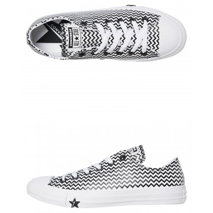 Womens All Star Mission Lo Shoe White