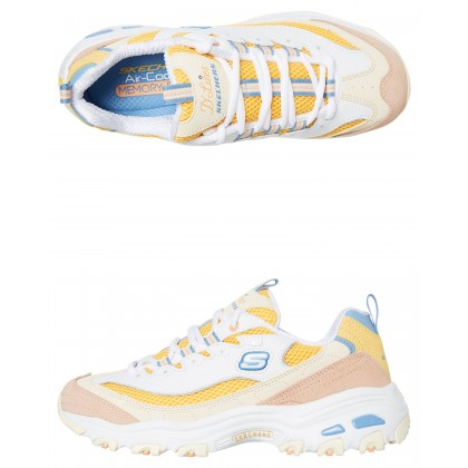 Womens D Lites Second Chance Shoe White Yellow