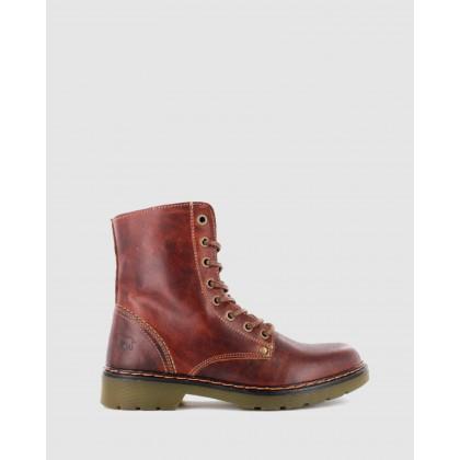 Brooklyn Boots Marron by Wild Rhino
