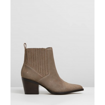 Tennessee Taupe Oil Cow Suede by Windsor Smith