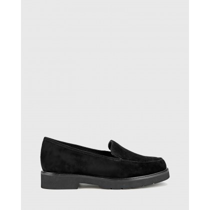 Dee Platform Loafers Black by Wittner