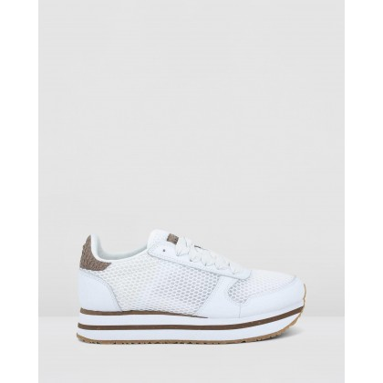 NSC Ydun Plateau Mesh Bright White by Woden