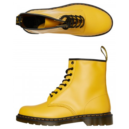 Mens 1460 8 Eye Boot Yellow Smooth