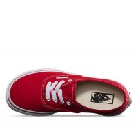 Red/True White - Kids Authentic Sale Shoes by Vans
