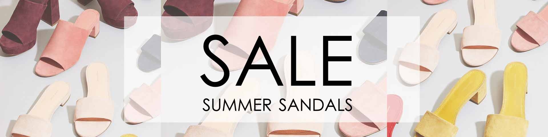 Womens summer sandals leather slides on sale free shipping Australia